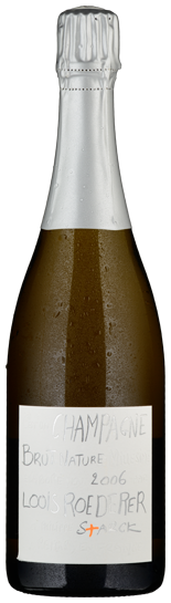 """Champagne Louis Roederer """"Brut Nature Philippe Starck"""" - 2006"""